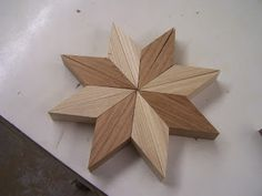 Pin Wheels or a new take on the 3D Multi Generation Diamond Lamination Design For some time now I have wanted to try this design. This 'pin wheel' is simple and lots of fun with one exc…