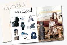 Maquetación para la revista ValenciaModa diseño creado por la agencia de moda Stralf www.stralf.com #design #magazine #layout #branding #fashion #diseño #revista #maquetacion #moda