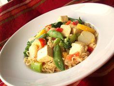 Dr. Phil 20/20 Diet Recipes - Fast and Easy Tofu Lo-Mein