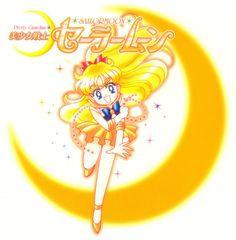 Sailor Moon Manga Vol 5 back cover Sailor Venus, Sailor Moons, Sailor Moon Manga, Sailor Saturn, Sailor Moon Art, Blood The Last Vampire, Venus Images, Sailor Moon Kristall, Nerd Love