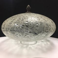 Your place to buy and sell all things handmade Unique Vintage, Vintage Stuff, Glass Replacement, Light Covers, Glass Globe, Ceiling Fixtures, Antique Brass, Clear Glass, Christmas Bulbs