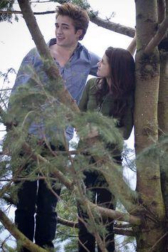 Twilight Movie Photo: Edward Cullen and Bella Swan