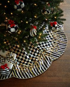 Golden+Laurel+Christmas+Tree+Skirt+by+MacKenzie-Childs+at+Horchow.