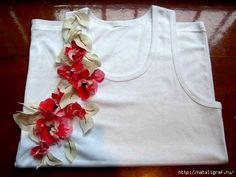 Pura Arte Máscaras: DIY - customizando uma camiseta branca basica
