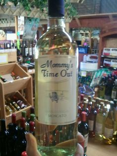 Oh, mommy... - A wine called Mommy's Time Out
