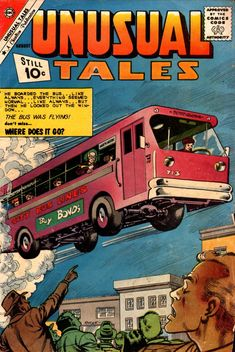 Comic Book Cover For Unusual Tales #29