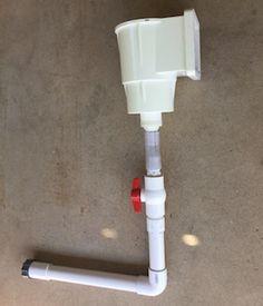 pvc plumbing Intex pump to Hayward skimmer