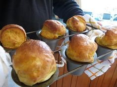 Light and airy, these are perfect for summer breakfasts {Popover Recipe}