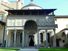 Firenze, Cappella Pazzi (basilica Santa Croce)