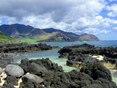 Kaena Point, Oahu - had a snack next to a monk seal and its baby. Hubby carried toddler in backpack