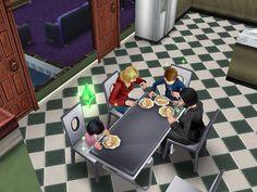 Swan-Mills Family dinner