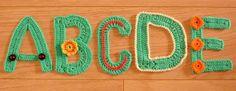 gehaakte letters