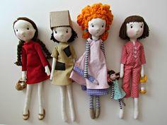 meninas da coleção sonhos de ser da editora DSOP_parceria Anacardia e Cecília Murgel