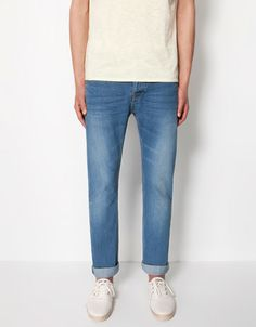 Bershka Korea, South - Basic straight jeans