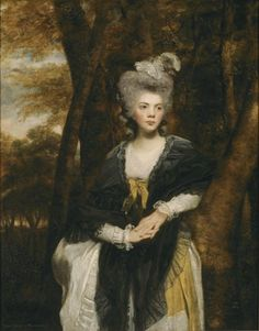 Lady Frances Finch, 1781-82 by Joshua Reynolds.