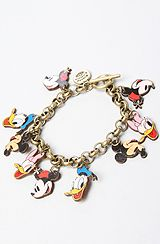 The Disney Couture Jewelry X Dr. Romanelli Disney Character Wood Charm Bracelet by Disney Couture Jewelry Disney Couture Jewelry, Disney Jewelry, Cute Jewelry, Jewelry Accessories, Jewelry Design, Vintage Mickey Mouse, Vintage Disney, Mickey Mouse Earrings, Disney Outfits
