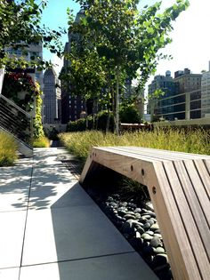 // Tribeca Penthouse Gardens New York, by HM White Architects