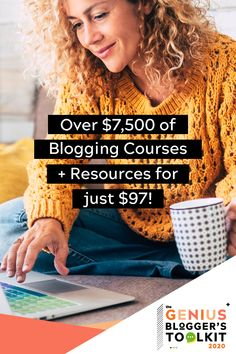 Life's too short to spend 40 hours a week at a job you hate (or wishing you could be earning extra money from home)! Why not learn how to start a blog and make money online - on your schedule and your terms! That's exactly what the Genius Blogger's Toolkit is all about: 86 eBooks, eCourse, and printables to help you start (and grow!) your blog and create a business you love. Just $97 for 8 days only. Get it before it's gone! #bloggingtips #startablog #onlinebusiness Make Money Blogging, Make Money Online, How To Make Money, Work From Home Moms, Blogging For Beginners, Social Media Tips, Blog Tips, Making Ideas, How To Start A Blog