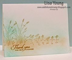 by Lisa Young, Add Ink and Stamp
