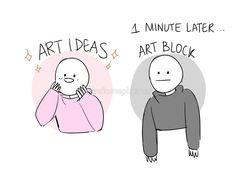 artist memes truths \ artist memes truths ` artist memes truths art students ` artist memes truths so true Art Memes, Artist Problems, Arte Sketchbook, Artist Life, Funny Art, Funny Relatable Memes, Funny Comics, Drawing Reference, Art Sketches