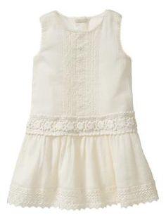 Simply sweet.clasico blanco para las pequeñas