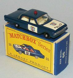 Matchbox b Ford Fairlane Police Car