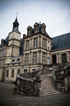 Fontainebleau Palace, France (by Coussier)