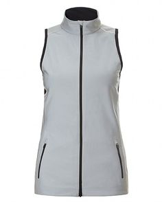 Mid-Season Sale - Online ExclusiveThis highly technical silver reflective run gilet delivers standout style day and night. Complementing the fitted design are high-stretch mesh inserts that promote freedom of movement and breathability. Watch it transform from an iridescent layer in sunlight to a high-visibility fashion statement after nightfall.   *Please note that the panels are black by day. They only become silver when light shines on them at night.