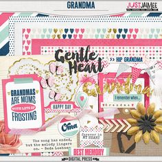 <p> Grandma Mini Kit by Just Jaimee</p>
