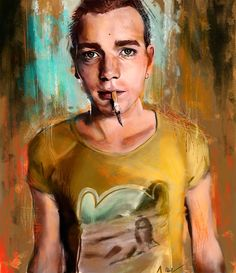 Mark Renton - Trainspotting - Namecchan.deviantart.com