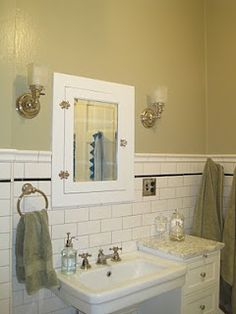 1000 images about vintage bathroom on pinterest for Bathroom ideas 1920 s