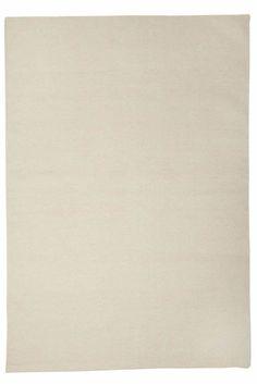 Milk Flat-Weave Rug