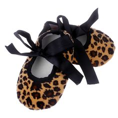 Delicate Hot! 2016 Summer Style Cute Beauty Kids Baby Bowknot Leopard Printing Newborn Cloth Shoes My30 wholesale