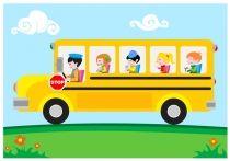 Cartoon School Bus Vector Free Download | Free Vector Graphic Download