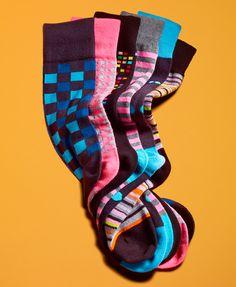 Go Bright: Fancy Footwork ALFANI #socks #mens BUY NOW!