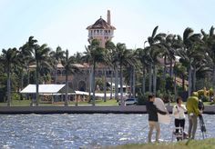 (Credit-OE RAEDLE VIA GETTY IMAGES) Possible Shady Goings On At Mar-a-Lago: The Washington Post has come across a receipt that appears to show at least one US Government official has stayed at Donald Trump's Mar-a-Lago resort in Florida with the bill being paid for by by the US taxpayer. The Mar-a-Lago Resort where President Donald Trump regularly holds meetings.