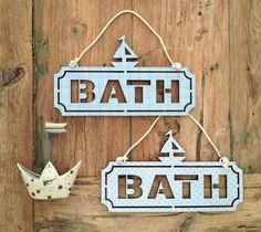 BOAT * Bath   Toilet sign