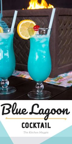 Blue Alcoholic Drinks, Blue Drinks, Mixed Drinks Alcohol, Fruity Drinks, Alcohol Drink Recipes, Vodka Cocktails, Cocktail Drinks, Yummy Drinks, Mix Drinks With Vodka