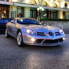 Mercedes SLR - Hitting The Streets Beautiful Streets Of Monaco
