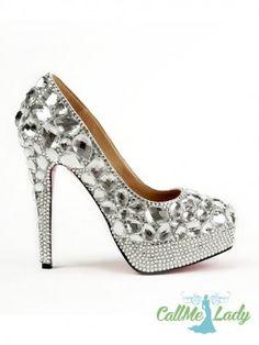 Upea strassit korkokengät kengät naisten