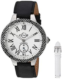 Women's Wrist Watches - GV2 by Gevril Womens 9124 Astor Enamel Analog Display Quartz Black Watch >>> You can get additional details at the image link. (This is an Amazon affiliate link)