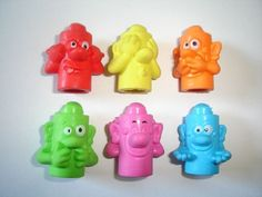 Kinder Surprise Set Totems Pencil Toppers 2008 Figures Toys Collectibles | eBay
