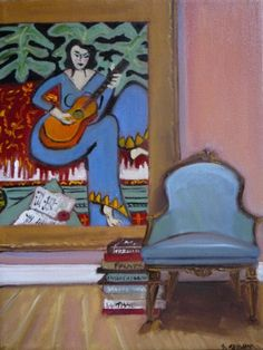 Title- Matisse et Mu