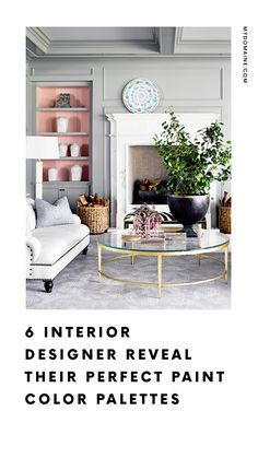 The best color palettes for every room.
