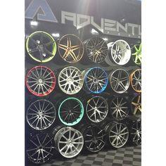 Adventus forged wheels str v4 split sfr 5 star every color