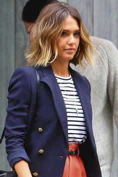 20 peinados e ideas fáciles para pelo ondulado #verano2018 #pelo #peinados ##cuidadodelpelo #peloondulado #jessicaalba