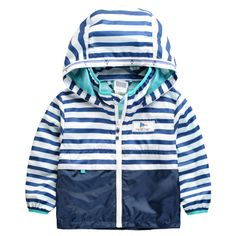 Children Outerwear Casual Hooded Raincoat Kids Clothes Waterproof and Windproof Boys Jackets For Age 2-8T Spring and Autumn - Discount Sales - ChinaBestPrice.com