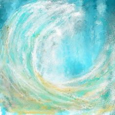 313216a13bf Seascapes Abstract Art - Mesmerized by Lourry Legarde