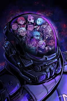 Mass Effect Andromeda Space Crew Print for AN! @ Table this weekend! Jaal Mass Effect, Mass Effect Art, Andromeda Mass Effect, Video Game Art, Video Games, Mass Effect Funny, Mass Effect Universe, Ex Machina, Gurren Lagann