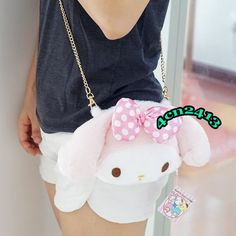 Plush Size: or wide. Made of high qulity soft plush. Belt size: or high. Kawaii Bags, Kawaii Dessert, Cake Shapes, Plush Dolls, Sanrio, Messenger Bag, Crossbody Bag, Belt, Mini